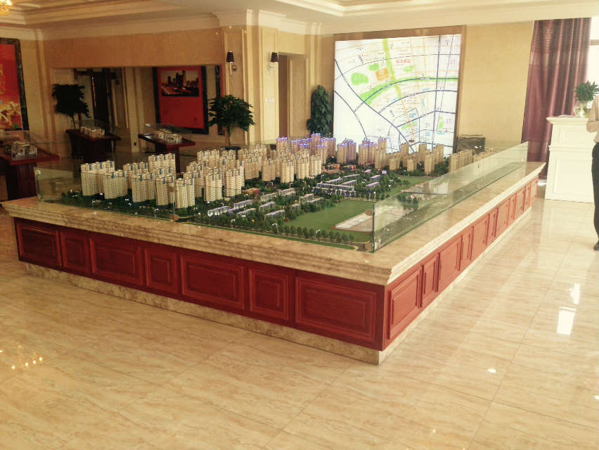喀什专业建筑模型制作公司-想要制作新疆建筑模型找三维视觉模型