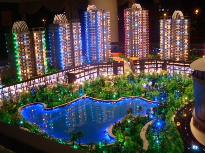 阿克苏建筑3d模型-三维视觉模型专业制作新疆建筑模型