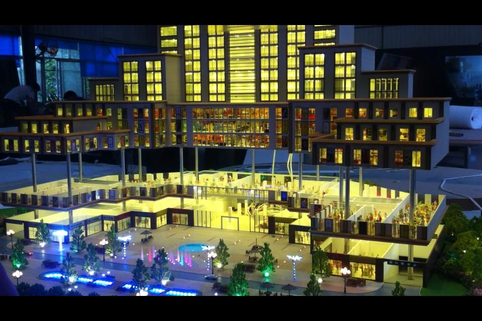 喀什建筑模型设计公司电话_新疆建筑模型当选三维视觉模型