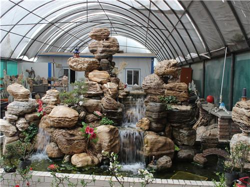 宝鸡园林庭院假山价格_龙岩塑石假山工程宝鸡庭院假山您的品质之选