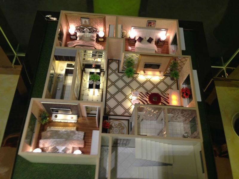 和田3d户型模型制作-新疆户型模型专业设计制作