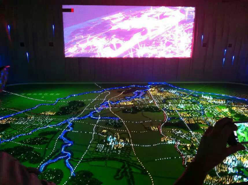 昌吉城市规划三维模型-专业的新疆城市规划模型制作
