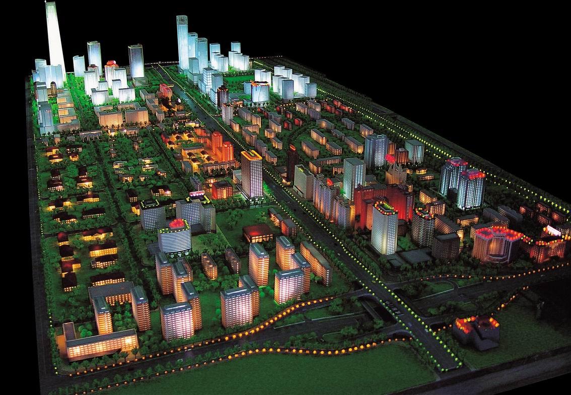 库尔勒城市规划三维模型-新疆城市规划模型制作找哪家比较好