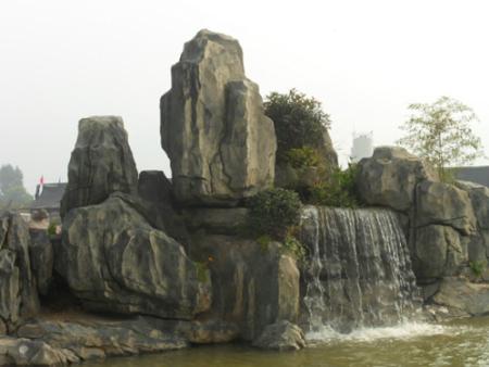 渭南园林庭院假山价格-龙岩景观庭院假山您的品质之选