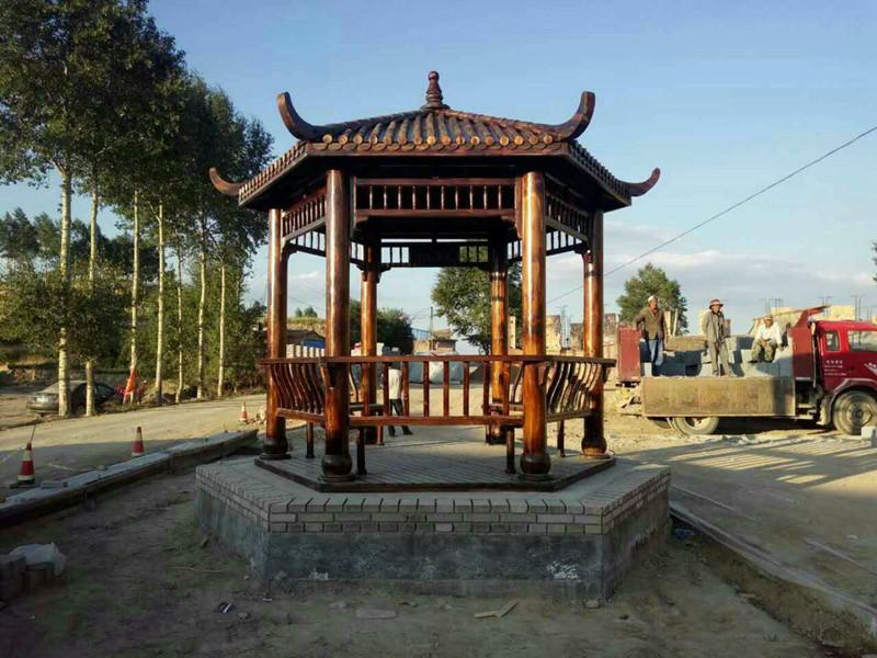 喀什防腐木凉亭安装-伊犁哈萨克自治州哪有供应质量好的新疆防腐木凉亭