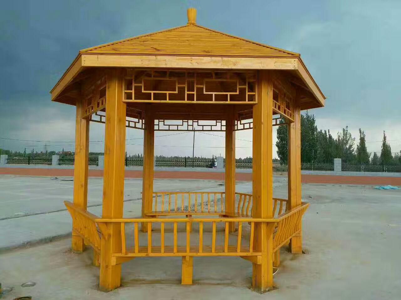 新疆防腐木涼亭采購|優惠的新疆防腐木涼亭要到哪買