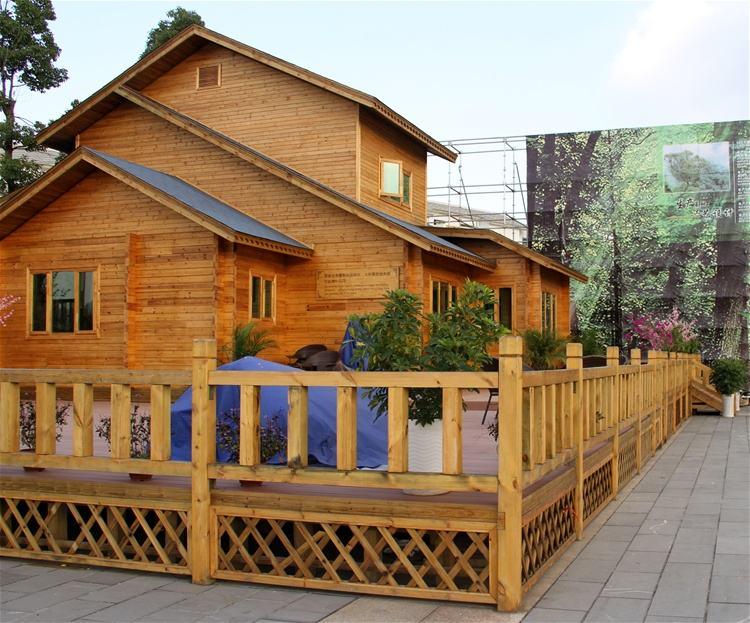 霍尔果斯木别墅设计-知名的新疆防腐木木屋批发商