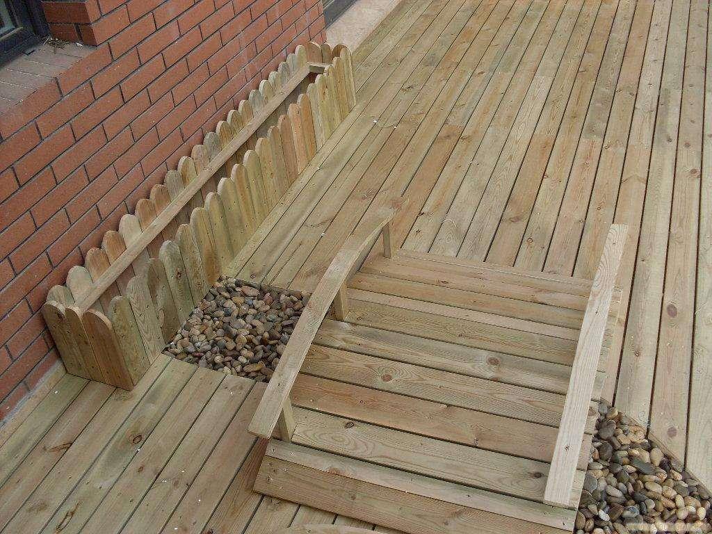 喀什防腐木地板安装 优惠的新疆防腐木地板要到哪买
