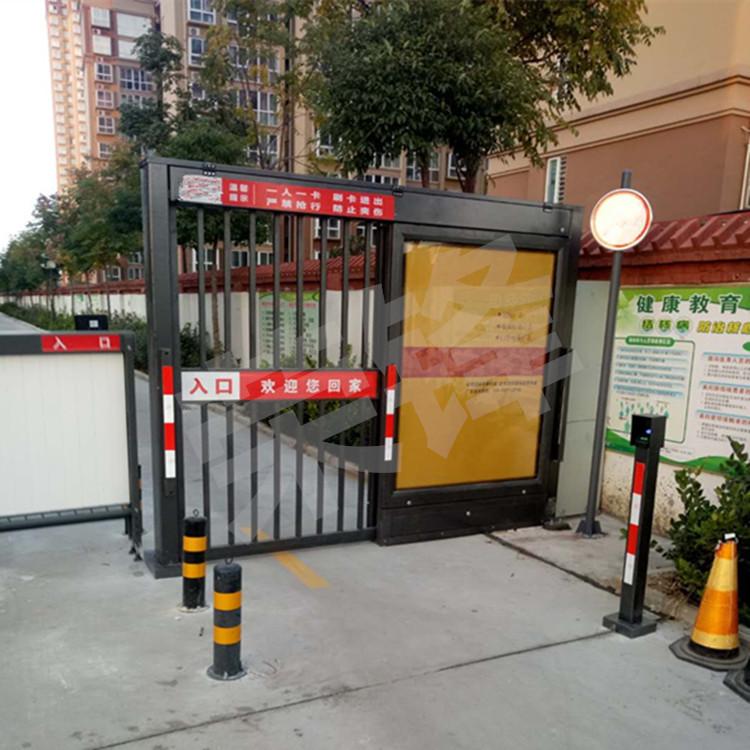 优惠的小区智能门人行门小区广告门广告平移门 哪里可以买到安全的小区智能门