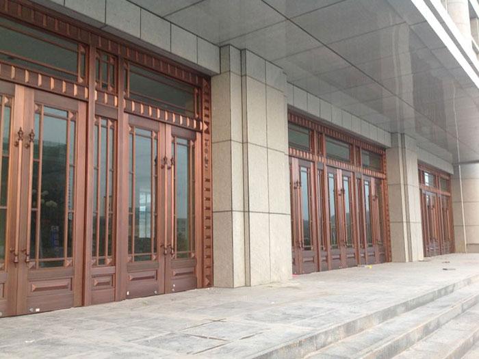 固原工程铜门-质量好的宁夏工程铜门火热供应中