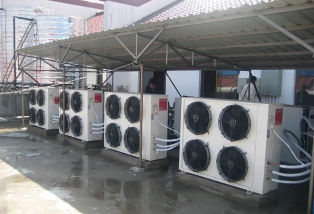 龙玺水业提供质量良好的空气能热水器_兰州煤改电锅炉