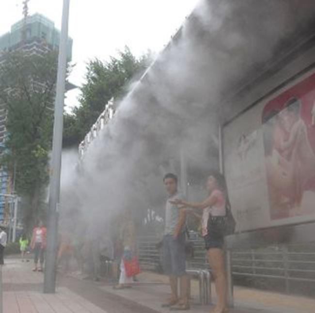 质量良好的喷雾降温设备供应信息-饶平高品质专业喷雾降温设备