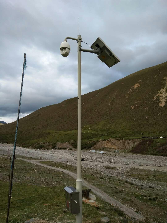 河道監測太陽能監控