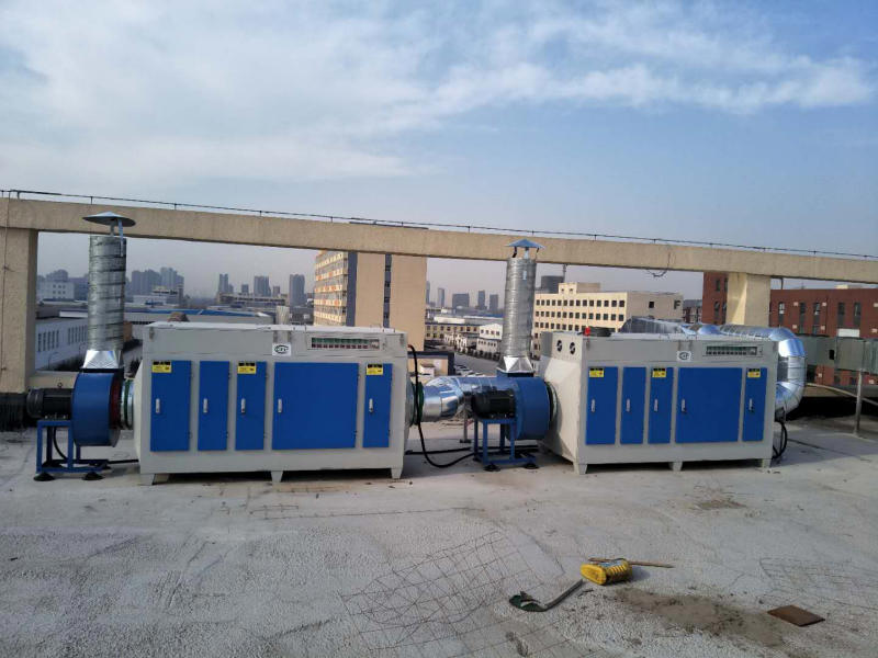 奎屯光氧净化设备_买新疆等离子光氧除烟器就选腾达域星机械设备