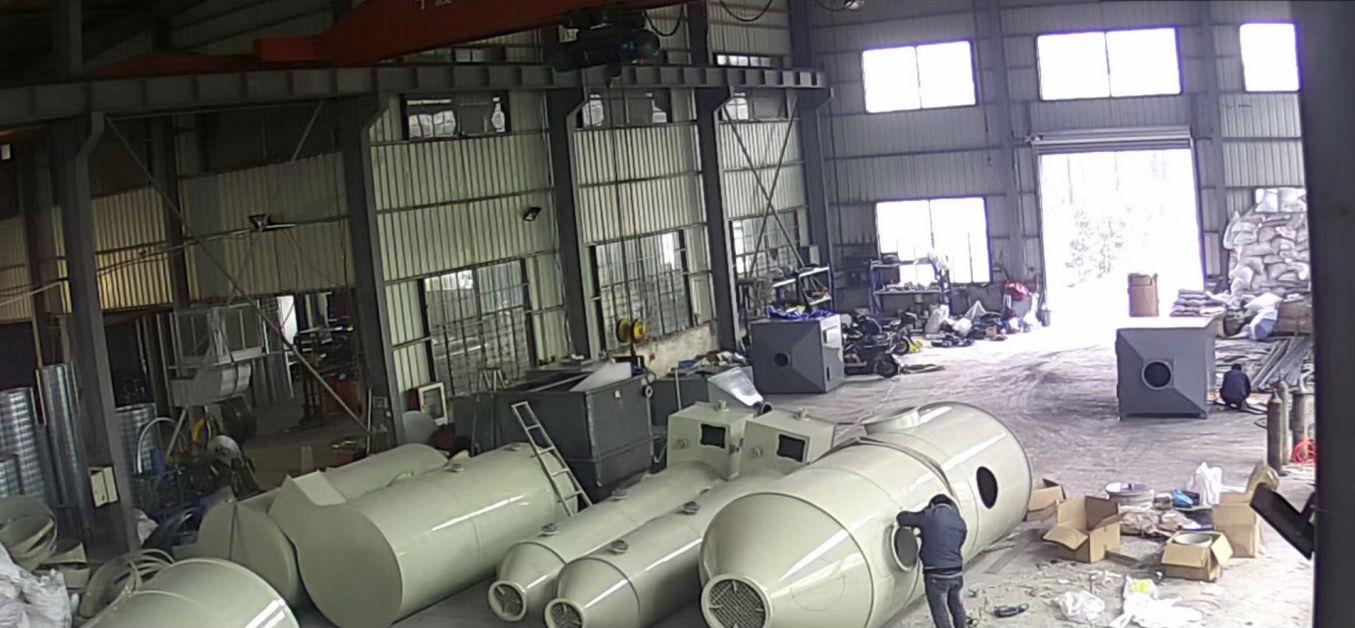 宁波喷淋塔-性炭净化箱-环保设备安装