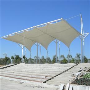 汕頭鴻泰鋼結構膜結構工程施工