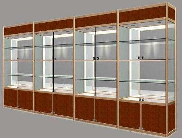 玻璃展柜价格-海南玻璃展柜出售