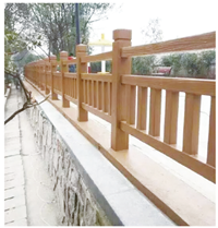 龙岩水泥护栏-出售漳州物超所值的仿木栏杆