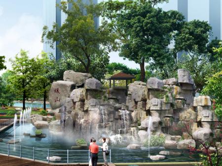 西安人造塑石假山制作_西安塑石假山哪家比较好