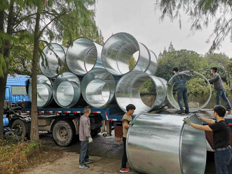 宁波螺旋管-不锈钢螺旋管-共板风管加工
