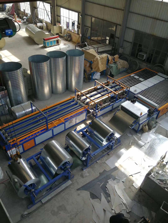 镇海风管 广千暖通设备专业生产风管