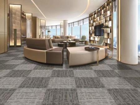 办公室地毯,方块地垫拼接,地毯维护保养的方式