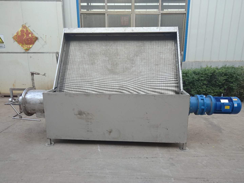污水分离斜筛式固液分离机粪污水生活污水分离设备