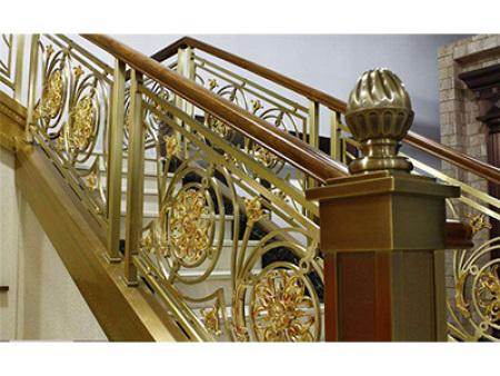 铜楼梯扶手款式时髦_哪里可以买到划算的铜楼梯扶手