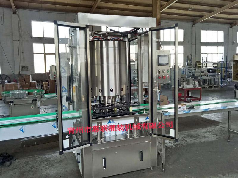 酒厂装瓶流水线 白酒罐装设备 12头 装瓶灌装机价格
