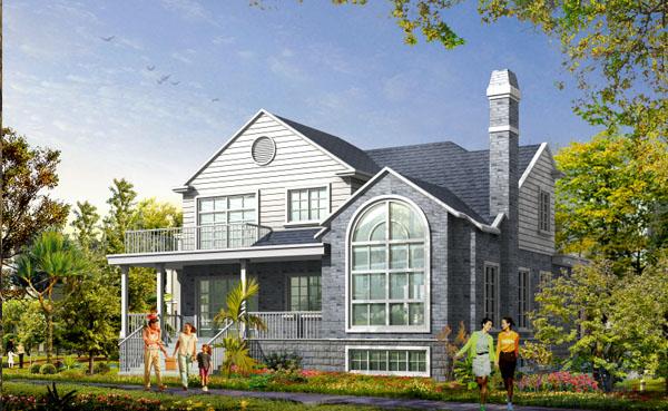 歐鼎森裝配式新理念打造別墅新科技贏得超大客流量