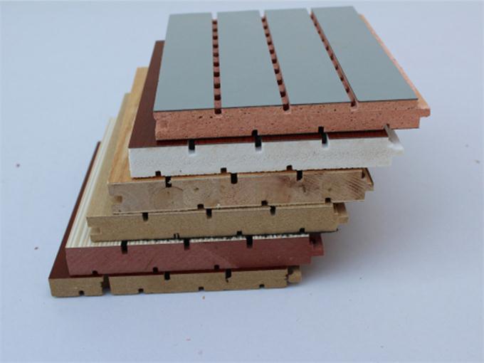 临沂豪轩装饰材料信誉好的木质吸音板材销售商|新款木质吸音板