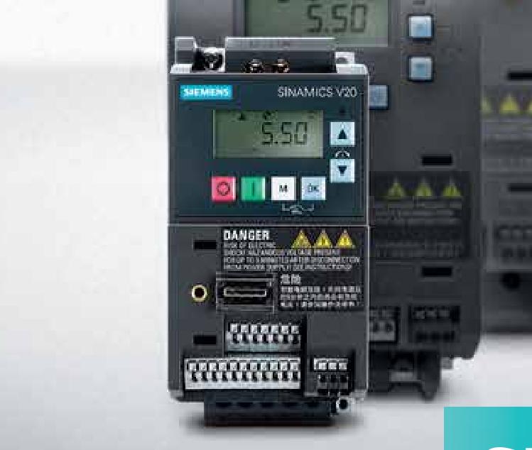 宁波西门子变频器-专业供应西门子V20基本型变频器