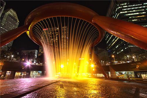冷雾喷泉-陕西价格划算的景观喷泉供应