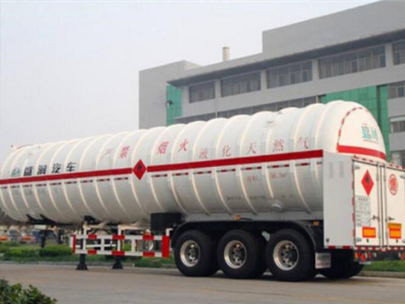 液化气配送公司_河南的低温液体运输半挂车供应