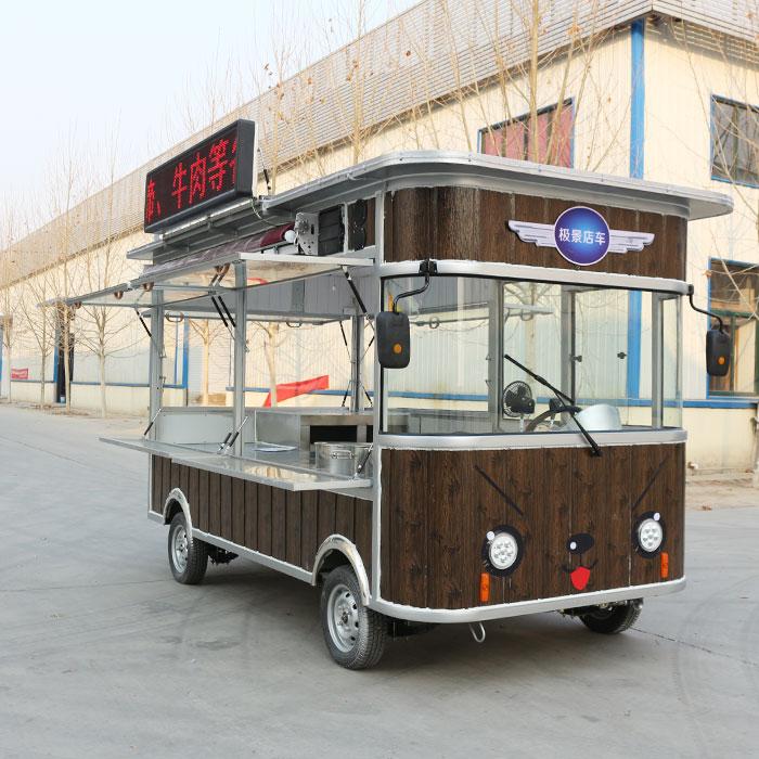多功能电动餐车种类_多功能电动餐车就找欧准新能源