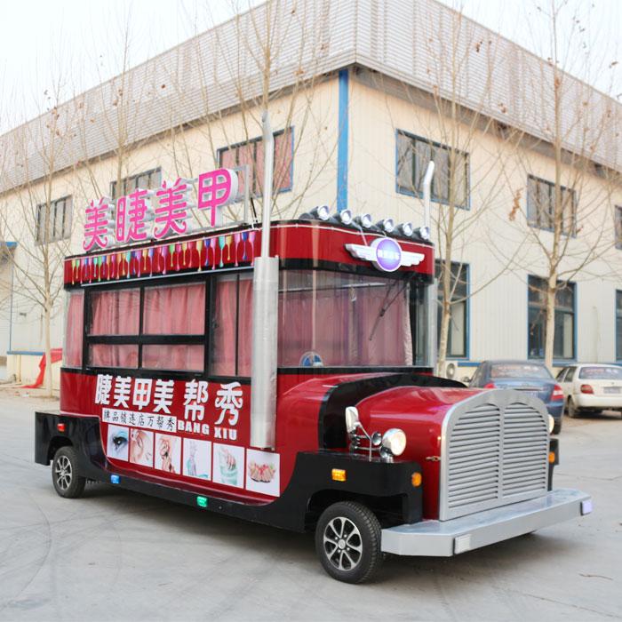專業的多功能電動餐車當選歐準新能源 正規的多功能電動餐車