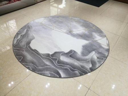 质量好的圆形地毯哪家好,泉州哪有卖实用的金色芳华圆毯