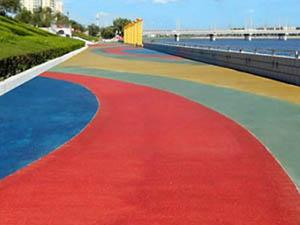 弹性篮球场,透水地坪还是蒙阴县隆康建筑装饰工程的好