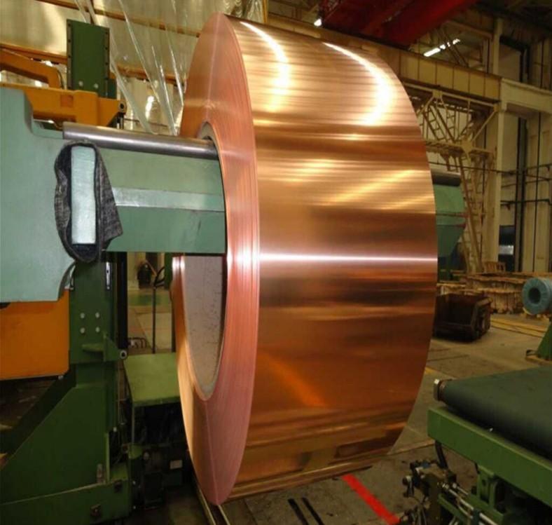 献县紫铜带|大量供应高质量的T2紫铜带