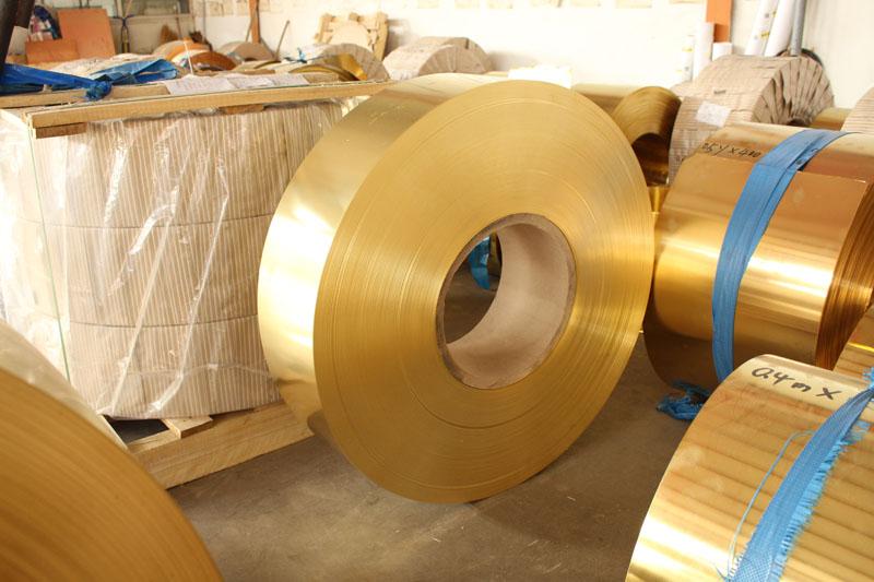 潮州H65黄铜带|河北具口碑的H65黄铜带供应商当属轩业金属材料