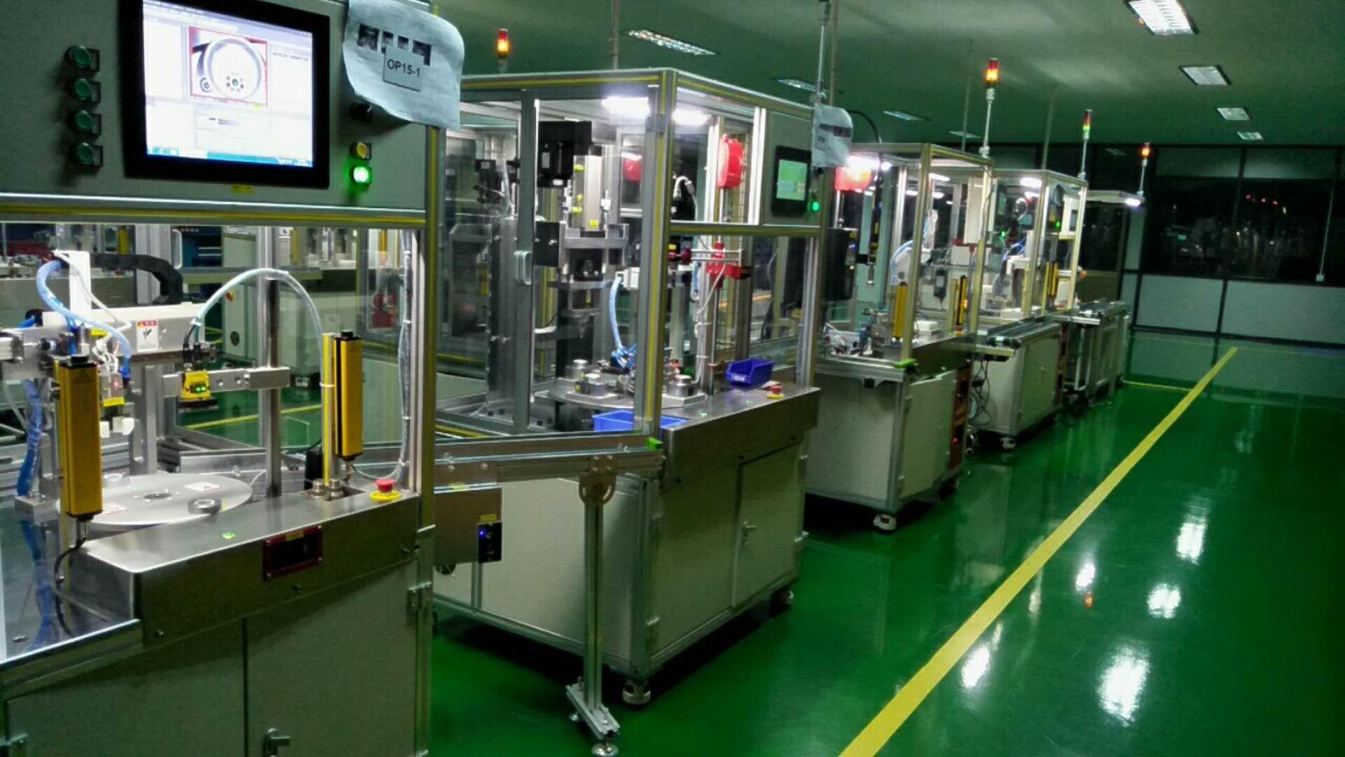 浙江汽车发动机产线-宁波哪里有专业的风门执行器自动化产线