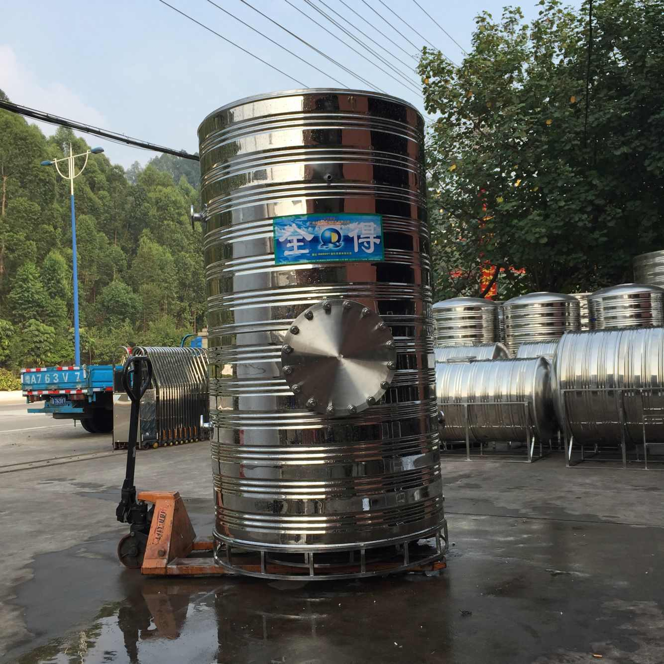 不锈钢承压水箱|全得不锈钢