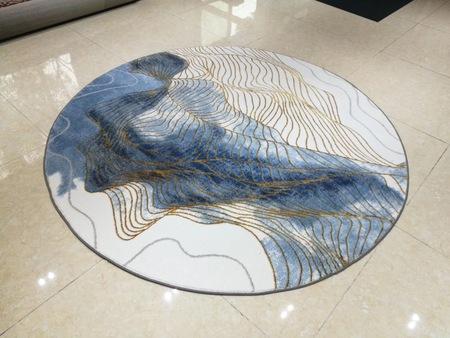 圆形地毯品牌,地毯的清洗步骤。