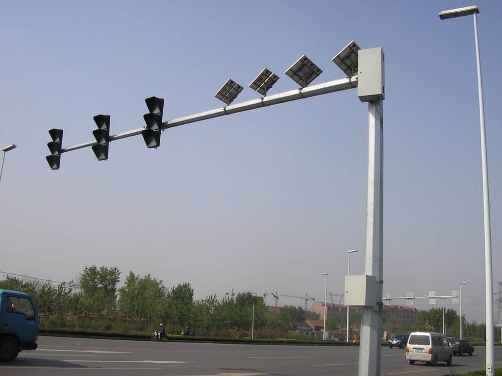 宁夏交通信号杆-银川交通信号杆-星火燎原照明工程公司