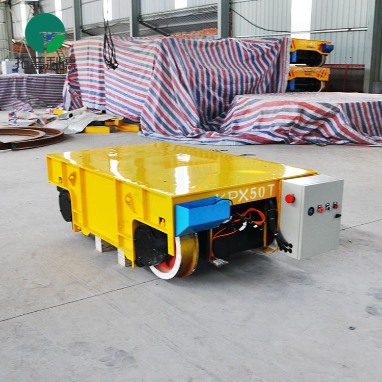 KPX50吨轨道平板车 电动平移车价格合理