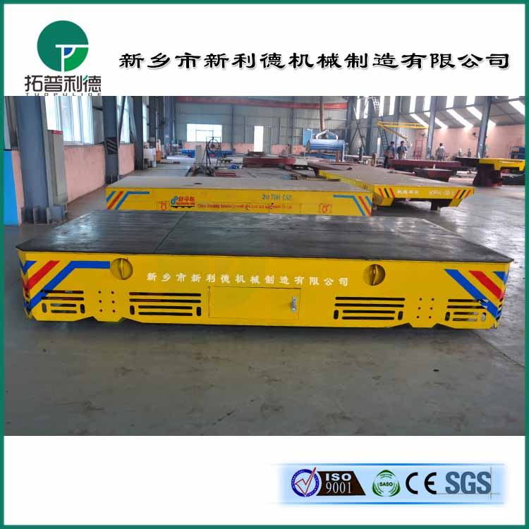 BWP31噸無軌道電動牽引車 模具搬運車運行案例