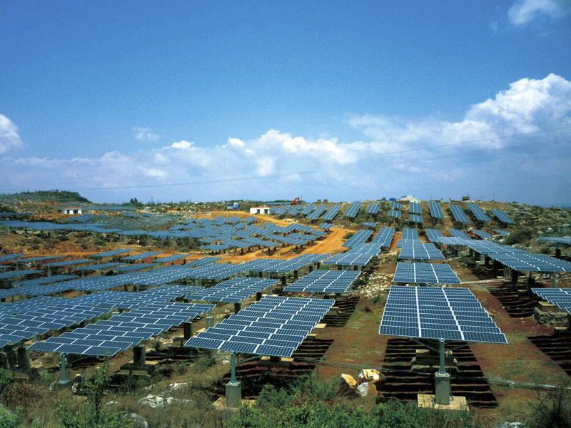 佛山太阳能充电桩设备哪里有/新能源光伏充电桩设计/信德新能源