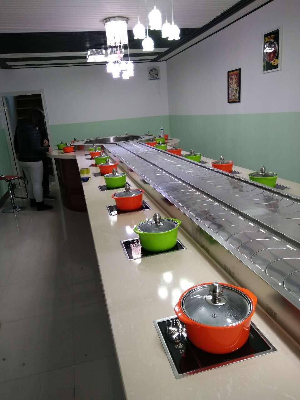 訂購回轉火鍋設備-哪里能買到報價合理的旋轉火鍋設備