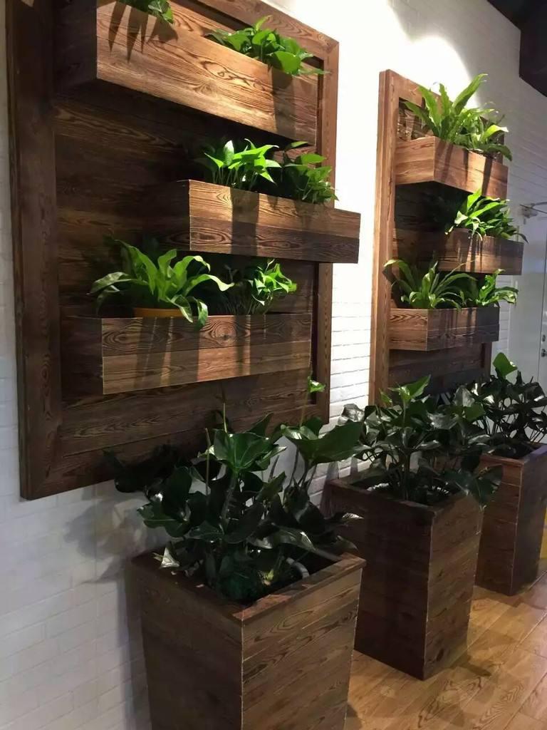 银川防腐木-花廊架-组织空间、构成景观、遮阳休息-银川丰天里