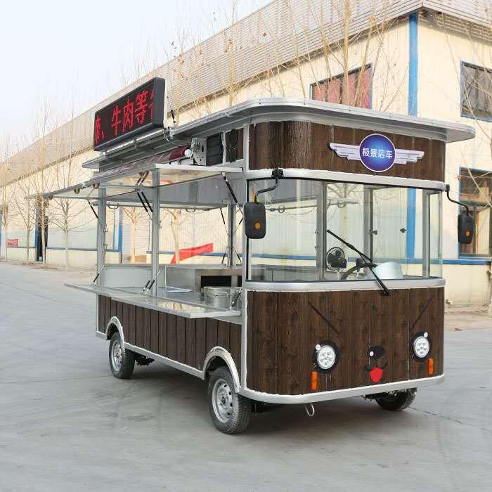 要买优惠的美食餐车,就上欧准新能源-北辰多功能电动餐车